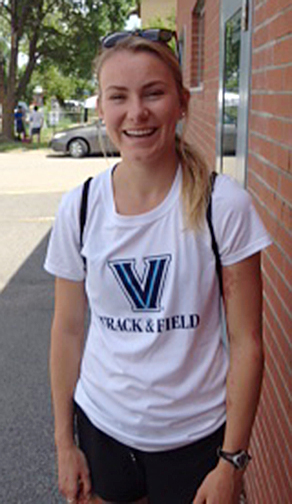Sydenham High School grad Nicole Armstrong did well, accordingn to her coach, in her first season at Villanova University
