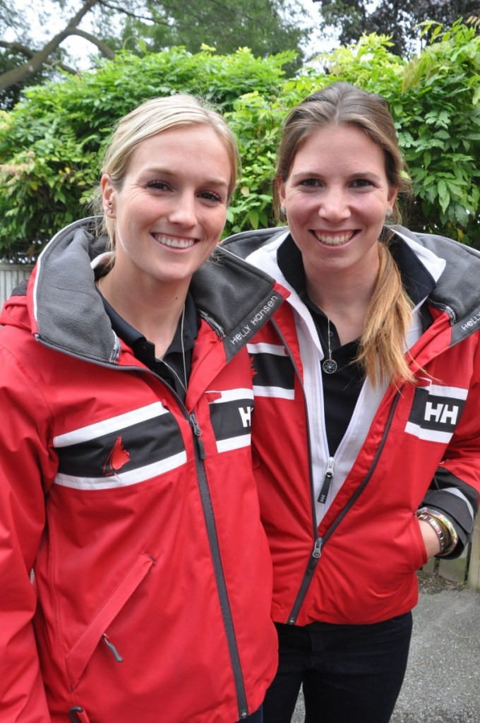 Erin Rafuse (left) and Kingston sailor Danielle Boyd are wintering in Florida as they continue their quest for a berth on Canada's 2016 Olympic sailing team. — teamrafuseboyd.com photo