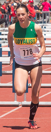 Confidence is the key to Claire Millard's progress, her coach believes — sportsgate.ca photo